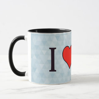 I Heart Derby Races Mug