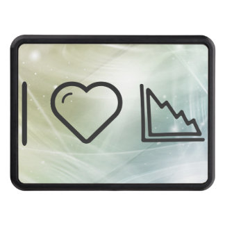 I Heart Descending Charts Tow Hitch Cover