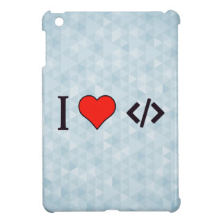 I Heart Designing My Own Software iPad Mini Covers