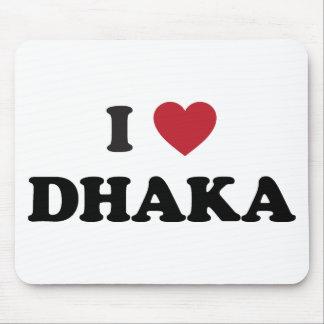 I Heart Dhaka Bangladesh Mousepads
