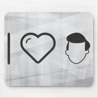 I Heart Different Hairstyles Mouse Pad