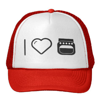 I Heart Dishwashers Trucker Hat