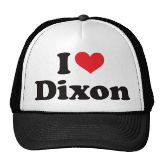 I Heart Dixon Trucker Hat