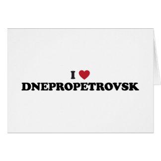 I Heart Dnipropetrovsk Ukraine Cards