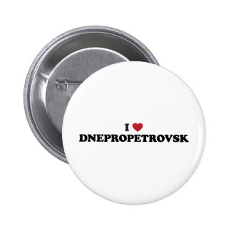 I Heart Dnipropetrovsk Ukraine Pinback Button