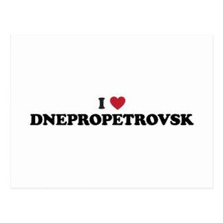 I Heart Dnipropetrovsk Ukraine Postcard