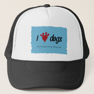 I Heart Dogs Trucker Hat