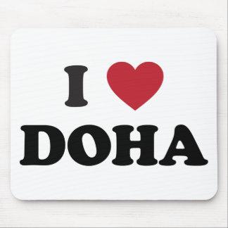 I Heart Doha Qatar Mousepads