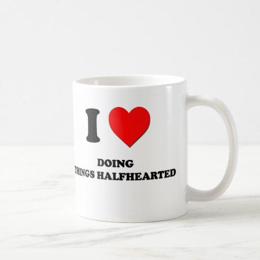 I Heart Doing Things Halfhearted Mug