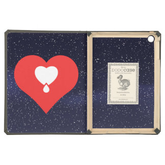 I Heart Donating Blood Icon Case For iPad Air