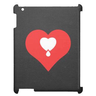 I Heart Donating Blood Icon iPad Cases