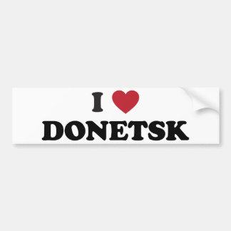 i Heart Donetsk Ukraine Bumper Sticker