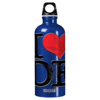 I (heart) DopE Aluminum Water Bottle