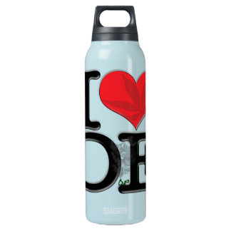 I (heart) DopE Insulated Water Bottle