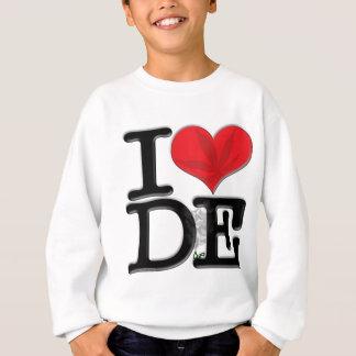 I (heart) DopE (leaf, light) Sweatshirt