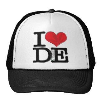 I (heart) DopE (leaf, light) Trucker Hat