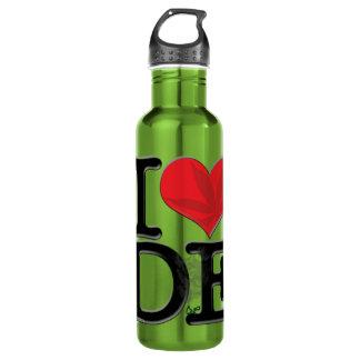 I (heart) DopE Water Bottle