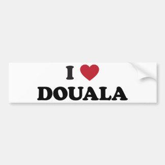 I Heart Douala Cameroon Bumper Sticker