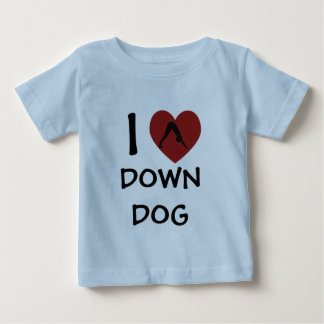 I Heart Down Dog - Baby Yoga Clothes Infant T-shirt