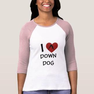 I Heart Down Dog - Long-Sleeved Yoga Shirts