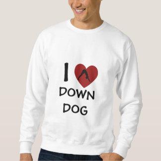 I Heart Down Dog - Yoga Sweatshirt