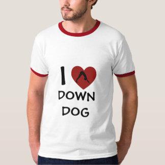I Heart Down Dog - Yoga Tees for Men