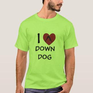 I Heart Downdog - Yoga T-Shirts