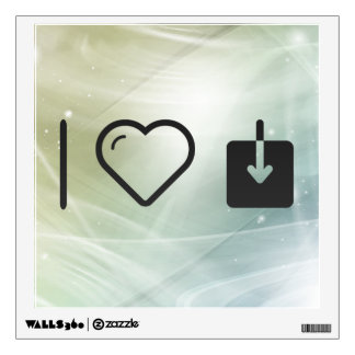 I Heart Download Speeds Wall Graphic