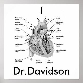 I Heart Dr.Davidson Print