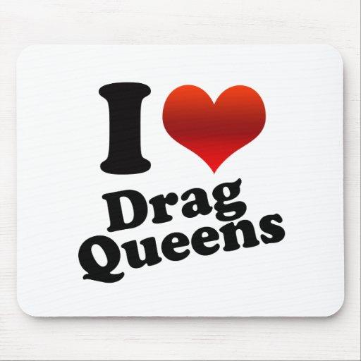 I Heart Drag Queens Mouse Mat