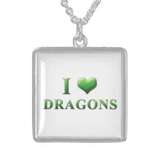 I Heart Dragons Necklace 0001