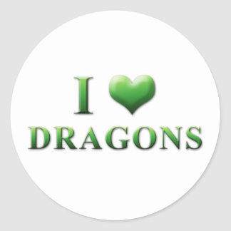 I Heart Dragons Stickers 003