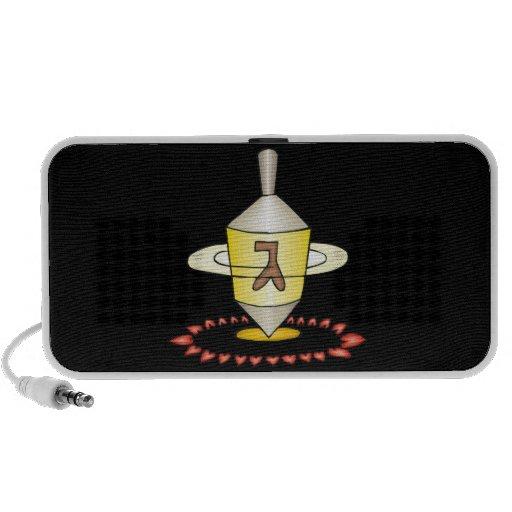 I Heart Dreidels iPod Speakers