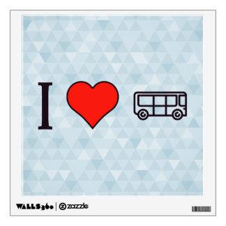I Heart Driving A Tourist Bus Wall Sticker