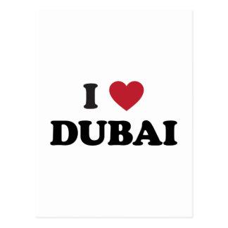 I Heart Dubai United Arab Emirates Postcard