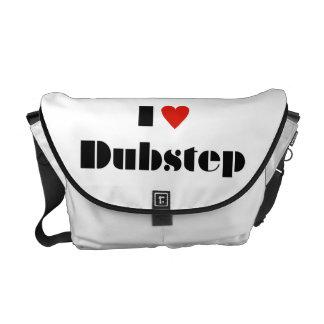 I Heart Dubstep Messenger Bag