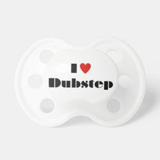 I heart dubstep pacifier