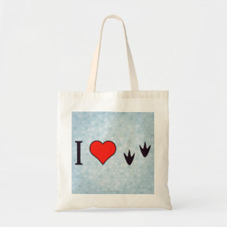 I Heart Ducks Tote Bag