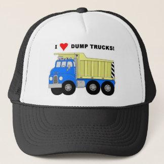 I HEART DUMP TRUCKS TRUCKER HAT