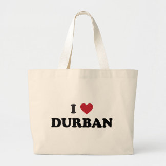 I Heart Durban South Africa Jumbo Tote Bag
