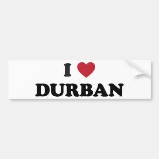 I Heart Durban South Africa Bumper Sticker