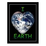 I Heart Earth (I ♥ Earth) Post Card