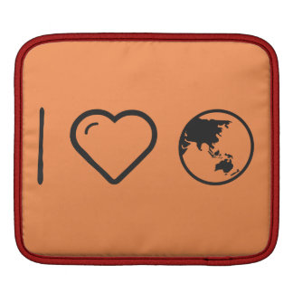 I Heart Earth Powders iPad Sleeves