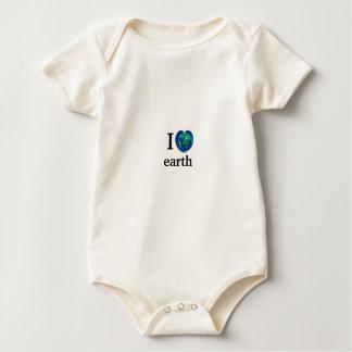 I heart earth rompers