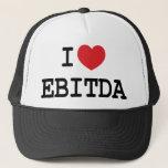 "I (heart) EBITDA Trucker Hat<br><div class=""desc"">Entrepreneurs and business folks heart EBITDA!</div>"