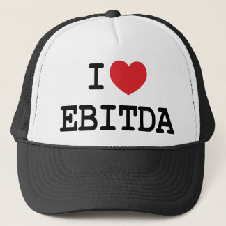 I (heart) EBITDA Trucker Hat