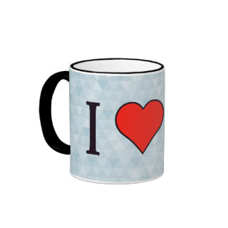 I Heart Editing Data Ringer Mug