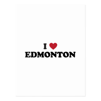 I Heart Edmonton Canada Postcard