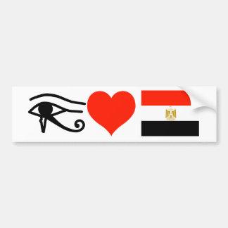 I Heart Egypt Car Bumper Sticker