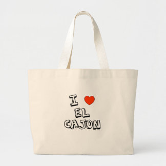 I Heart El Cajon Large Tote Bag